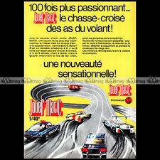 JOUEF MATIC 1971 CIRCUIT SLOT CAR RACING VINTAGE - Pub / Publicité / Ad #A1559