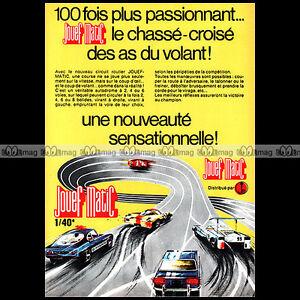 JOUEF-MATIC-1971-CIRCUIT-SLOT-CAR-RACING-VINTAGE-Pub-Publicite-Ad-A1559