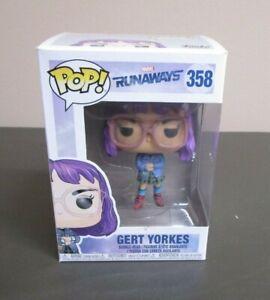 Runaways Gert Brand New In Box Funko POP Marvel