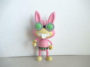 Poptropica-Dr-lievre-lapin-rose-avec-carotte-Jazzwares-2011-6-5-034-Tall-Action-Figure