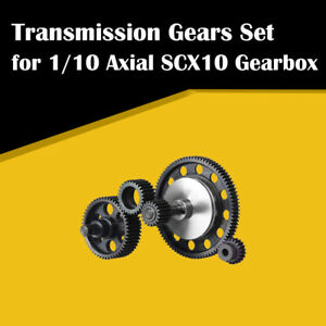 Complete-Set-Transmission-Gears-Motor-Gear-Hardened-Steel-for-1-10-Axial-SCX10