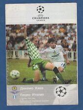Orig.PRG    Champions League  1999/00    DINAMO KIEW - LAZIO ROM  !!  SELTEN