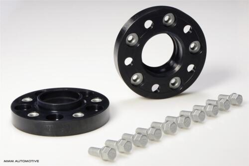 H /& r ensanchamiento negro 50mm b5075725 bmw 6er e63//e64 tipo 663c pista placas