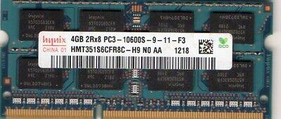 4GB SODIMM HP Compaq TouchSmart 300-1115sc 300-1115uk 300-1120 Ram Memory