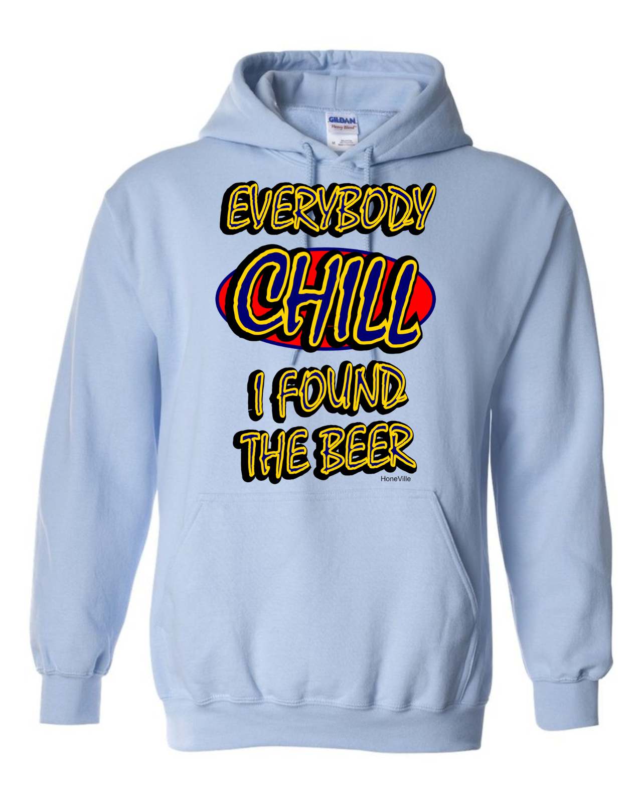 Black Chill Hoodie, XX-Large Netflix//Chill Hooded Sweatshirt//T-Shirt in Black Color