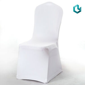 Stretch Spandex Cheap Chair Cover White Full Seat Banquet ...