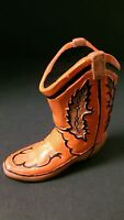 Miniatur Red Cowboy Boot Christmes Tree Ornament Western Decoration