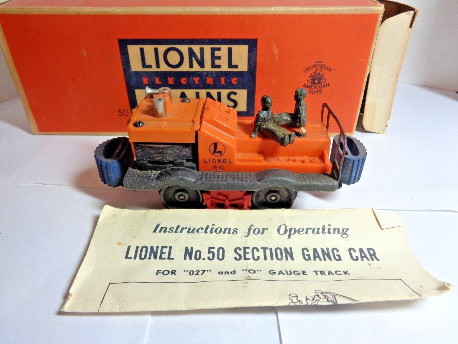 Vintage Lionel O Scale Gang Car