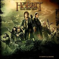 The Hobbit / Motion Picture Trilogy - 2017 Wall Calendar By Dateworks