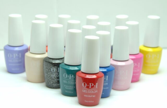 Opi Gelcolor Uv Led Soak Off Gel Color Nail Polish New Packaging Choose One