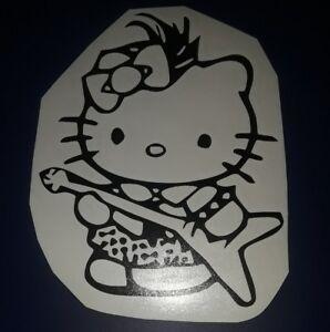 Hello Kitty Glitter Diamond Car Truck Suv vinyl sticker decal