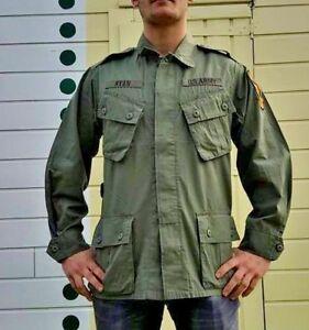 Veste US M64 Vietnam forces spéciales parachutiste cavalerie Vert Olive