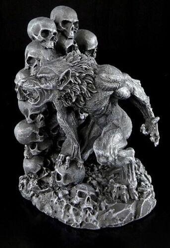 Figuren Fantasy Deko Stützen Halter Geschenk Werwolf Buchstützen
