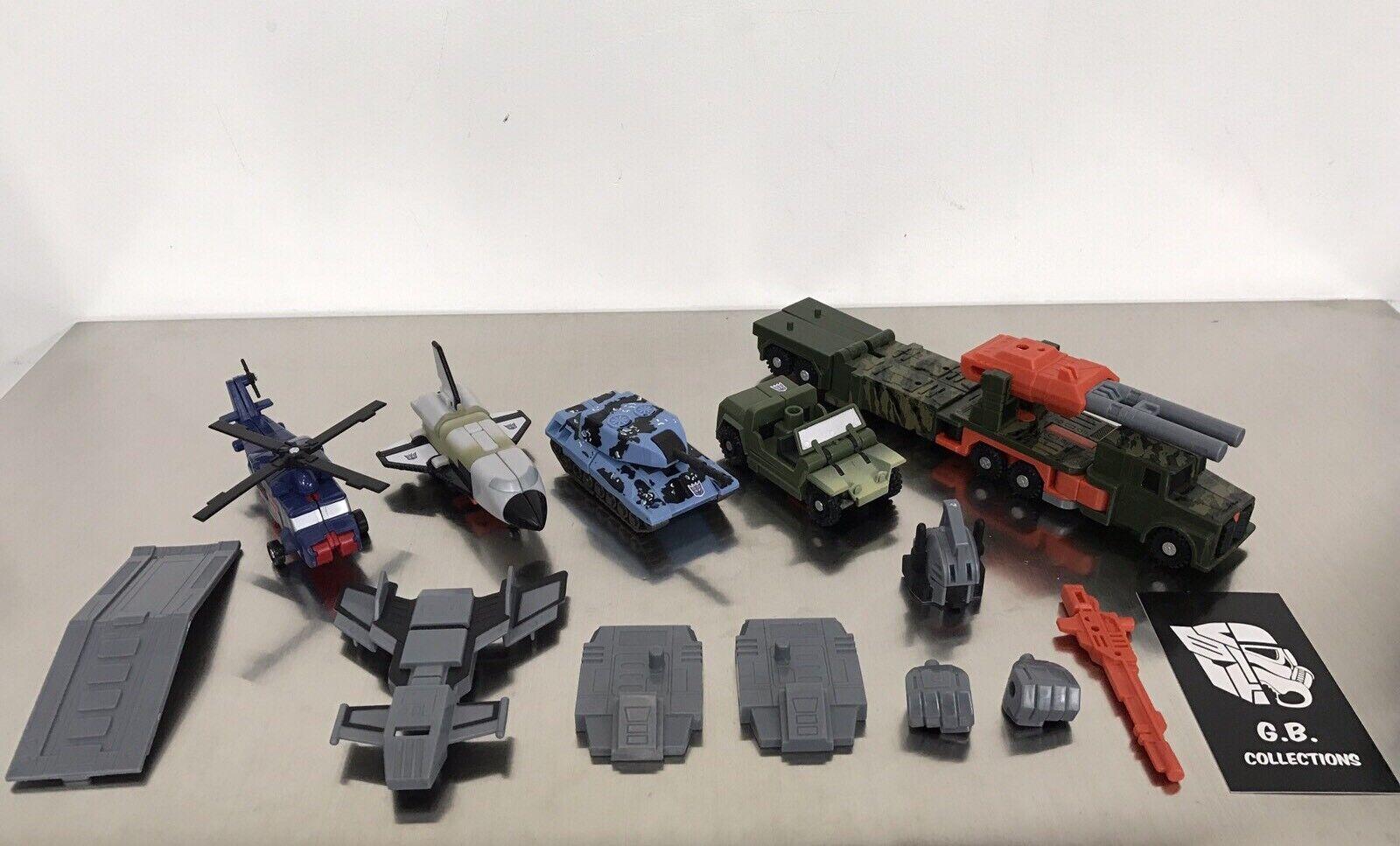 Transformers RID Ruination ( Bruticus ) Almost Complete Complete Complete - Combaticons - a4268c