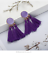 NEW-TASSEL-TASSLE-FRINGE-EARRINGS-BOHO-FESTIVAL-NINE-COLOURS-CHOOSE-UK-SELLER Indexbild 16