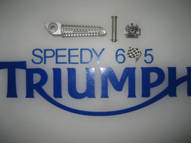 TRIUMPH STREET TRIPLE REAR RIGHT FOOT PEG  06 TO 2016