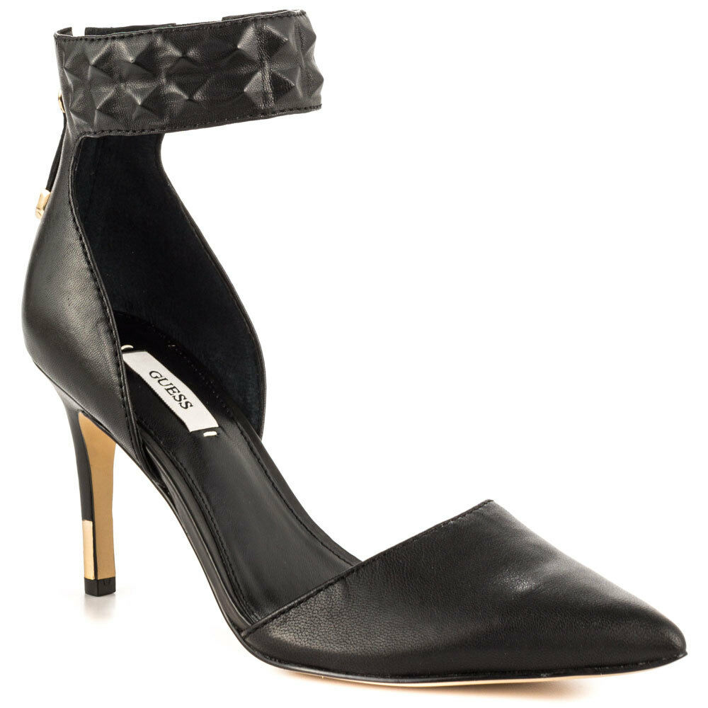 distribuzione globale donna Guess Evanne d'Orsay Pointed-Toe Pumps, Pumps, Pumps, Dimensiones 6-9.5 nero Leather New Auth  preferenziale