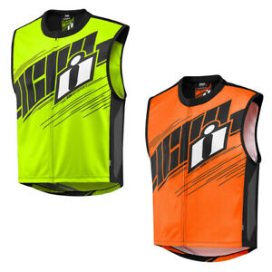 Icon Mil Spec 2 Men's Street Riding Motorcycle Hi-Viz Vest -Pick Size