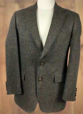 Austin Reed Regent Street Mens Tweed Jacket Pure Virgin Wool Blazer Sport Coat Ebay