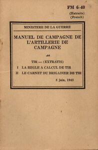 FM-6-40-Manuel-de-campagne-TIR-calcul-de-tir-1943