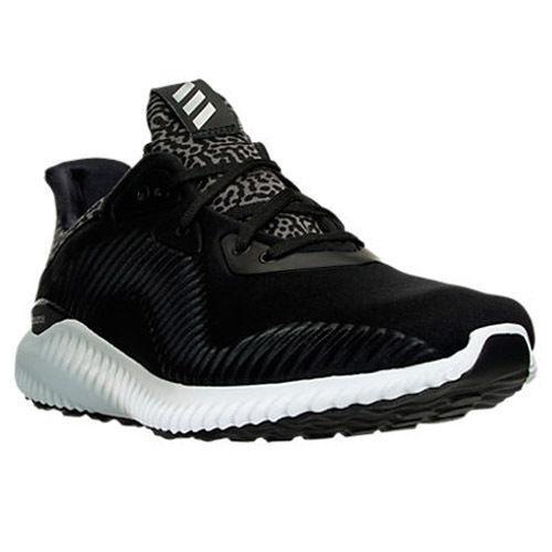 Auténticos Adidas alphabounce CR Zapatillas Triple Negro gris Hombre