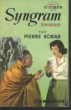 Syngram.Pierre KORAB.Flammarion Coeurs 1954 J003