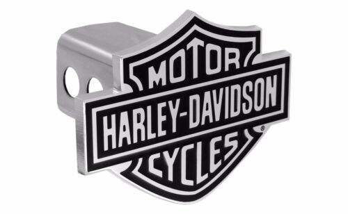 "Harley Davidson 3D Bar /& Shield Trailer Tow Hitch Cover Plug Cap 2/"" Inch Post"