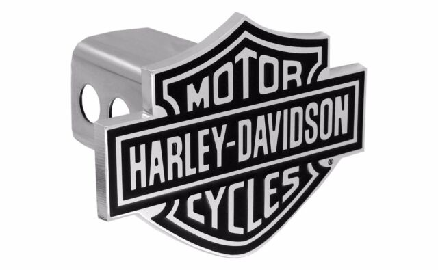 "Harley Davidson 3D Skull Trailer Tow Hitch Cover Plug Cap 2/"" Inch Post"