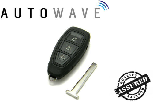 Ford Keyless Smart 3 Button Remote Control Key Fob ID63 433Mhz HU101 Blade