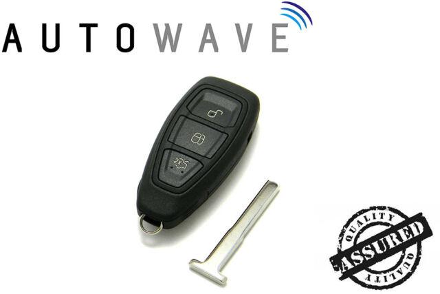 Ford Fiesta 2008 - 2016 Keyless Smart 3 Button Remote Control Key ID63