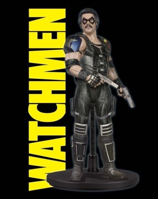 THE COMEDIAN   WATCHMEN MOVIE   1 6 SCALE DELUXE COLLECTOR FIG   DC DIRECT   NIB