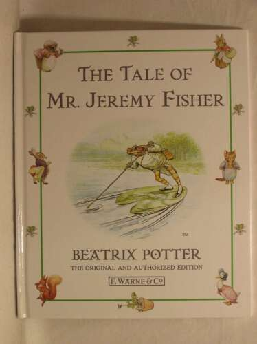 1 of 1 - Tale of Mr. Jeremy Fisher, The, Beatrix Potter, Excellent Book
