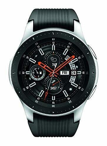 Samsung Galaxy Watch (46mm) Silver (Bluetooth), SM-R800NZSAXAR