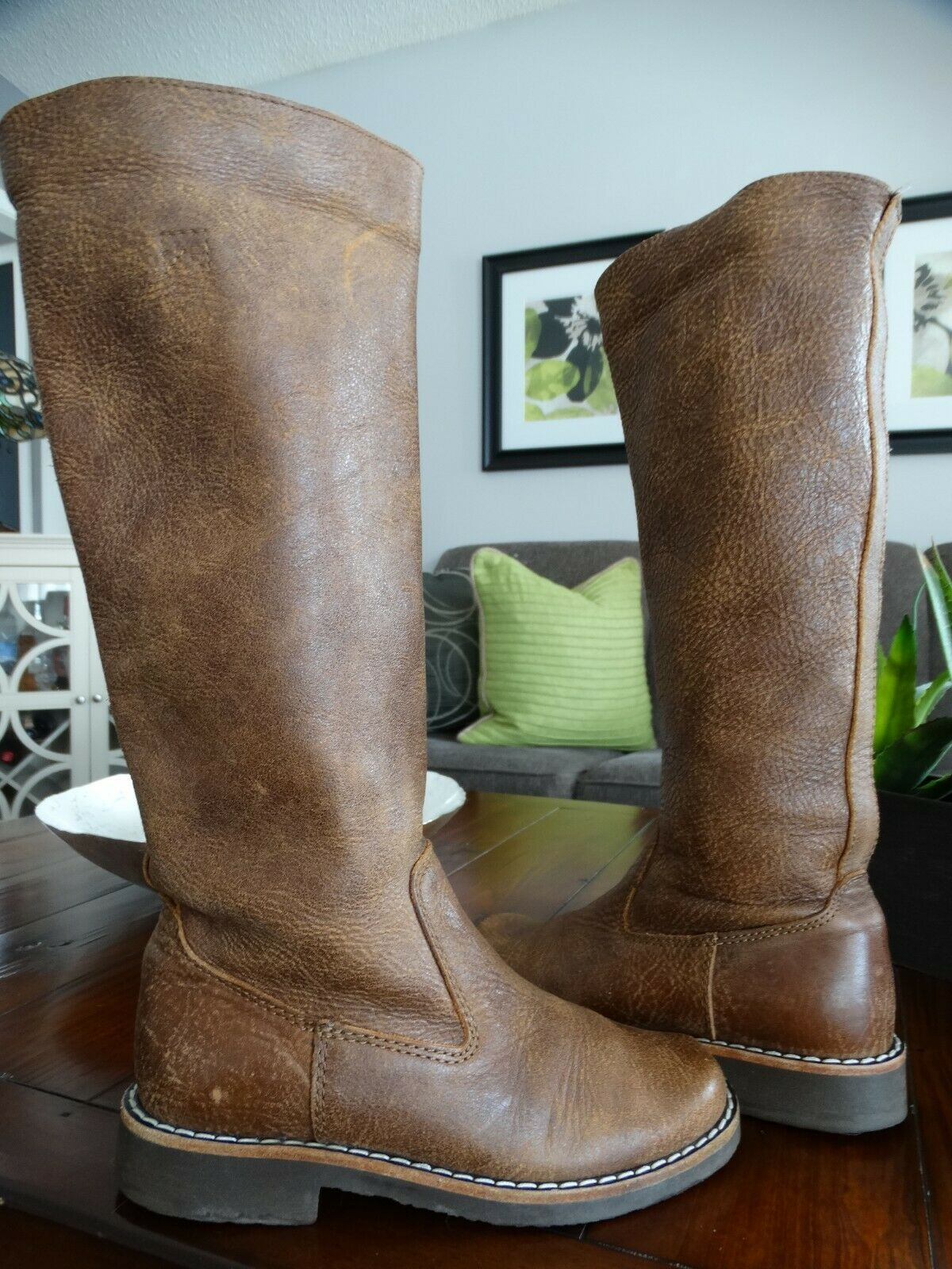 ROOTS Tribe Leather Tall Boots 5