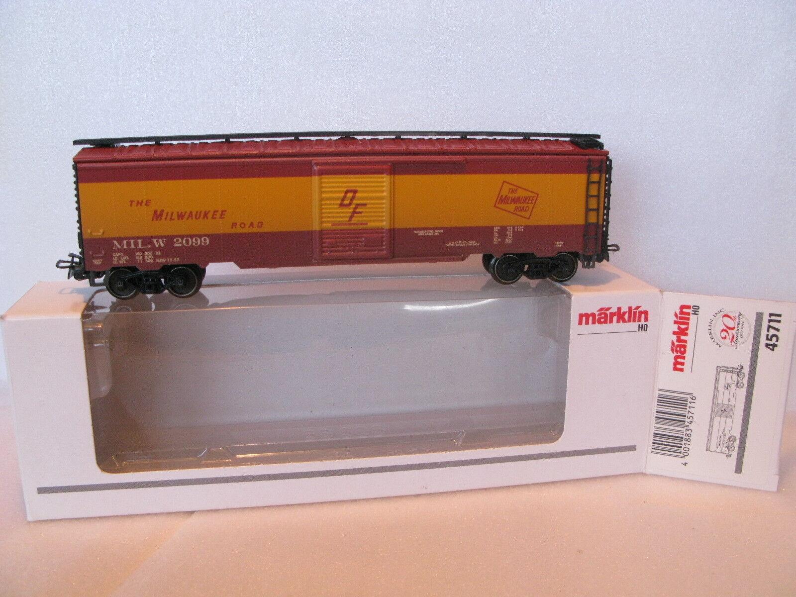 marklin HO 800 Milwaukee 45711 OVP privo vagone DA COLLEZIONE personalizzati. D