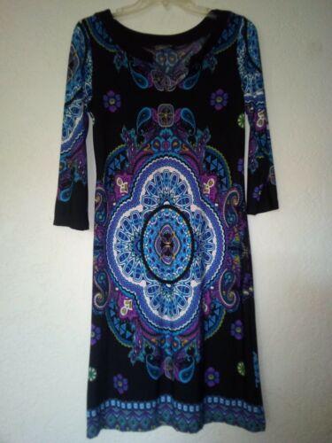 Kupkake Soft Vintage Inspired Dress Psychadellic,