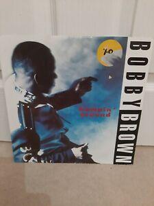 Bobby-Brown-Humpin-039-Around-Vinyl-12-034-P-S-Single-MCA-MCST-1680-1992