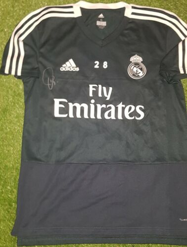 VINICIUS JR Signed shirt Real Madrid Brazil player issue match worn Neymar