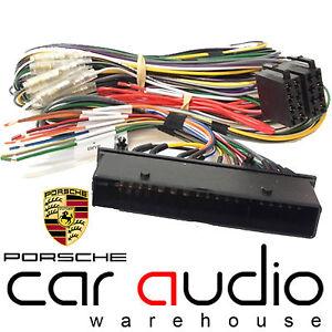 911 CD STEREO RADIO ISO WIRING HARNESS ADAPTOR PC2-95-4 PORSCHE CAYENNE