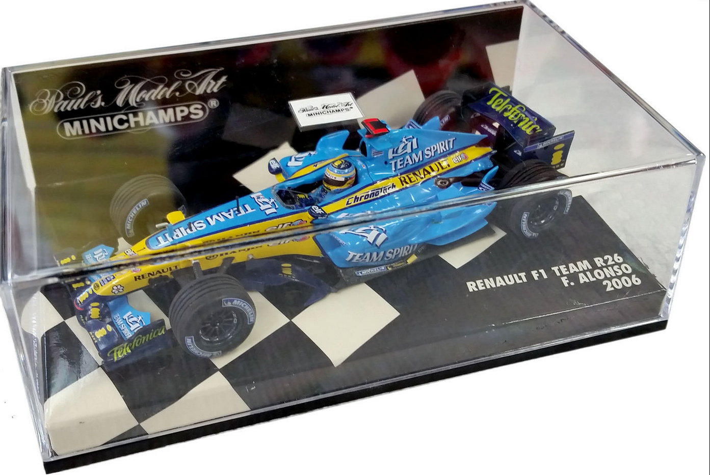 Renault F1 R26 JF.Alonso 2006 World Champion  400060001  1 43 Minichamps