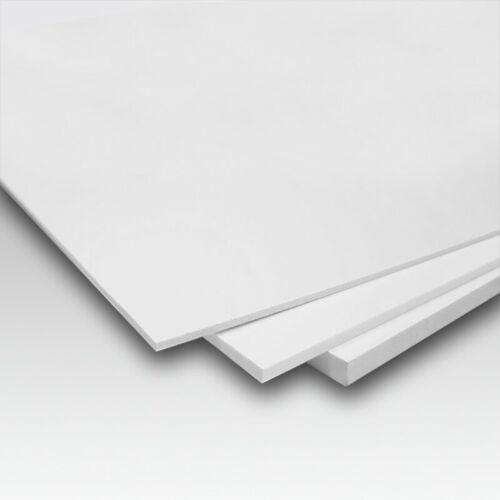 FOREX PVC ESPANSO BIANCO 5 MM X FOTOGRAFIE DI PICCOLO//MEDIO FORMATO E BRICOLAGE