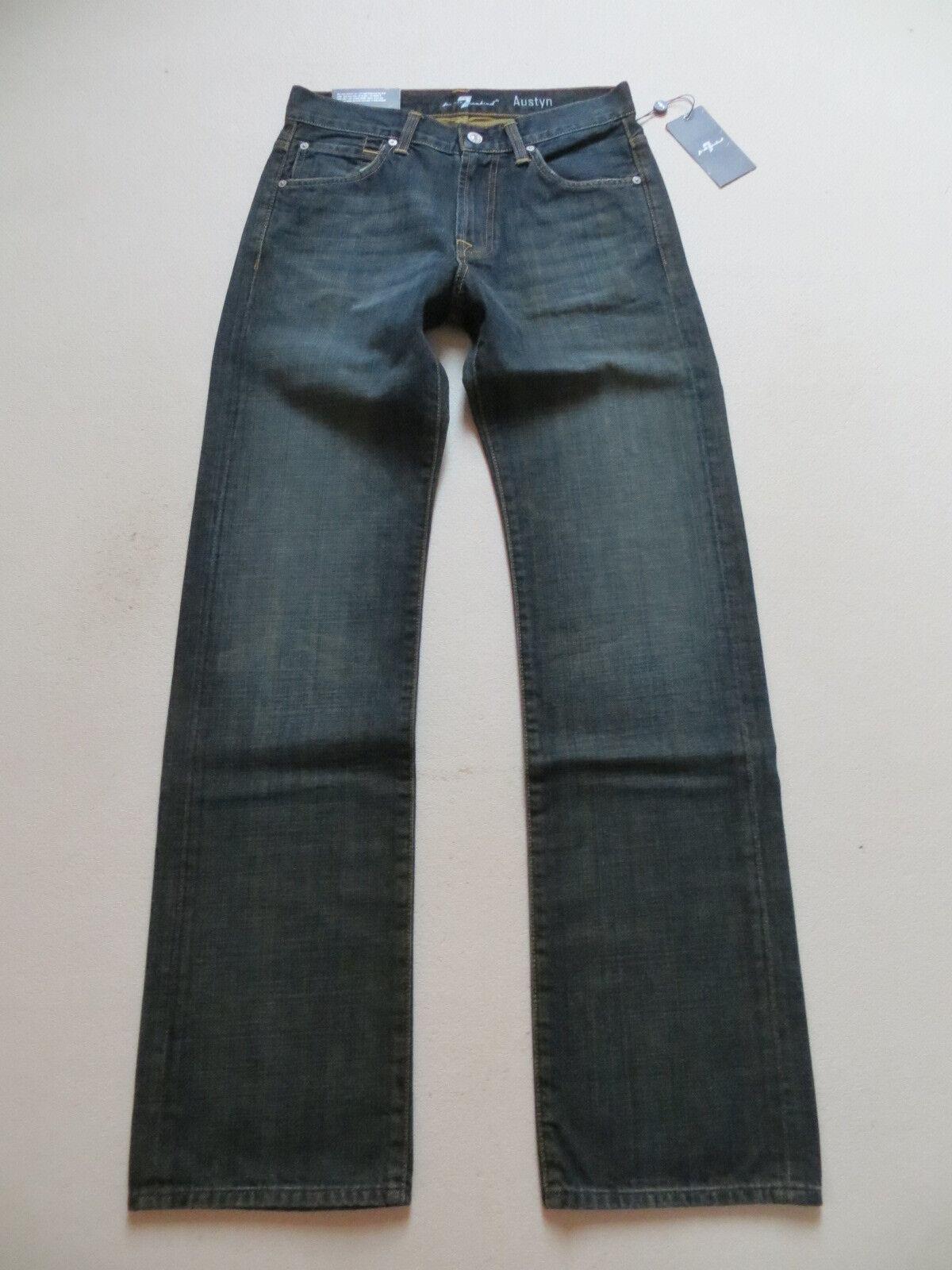 Seven 7 For All Mankind AUSTYN Jeans Hose, W 28  L 34, NEU   Denim made in USA