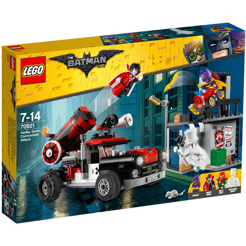 Lego The Batman Movie Harley Quinn Cannonball Attack 70921 NEW