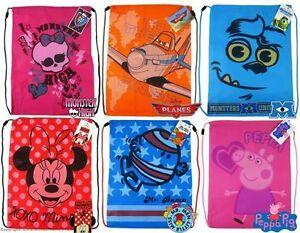 Disney Carácter Niños con Cordón Pe Nadar Escolar Bolsa Gimnasio Deporte Zapato Niños Niñas