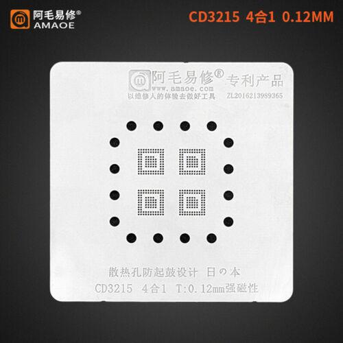 Amaoe CD3215//CD3217 Reballing Set Soldering Plate Location Platform BGA Stencil
