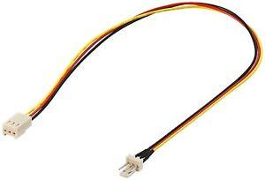 Molex-3-PIN-Extension-de-ventilateur-30cm-M227