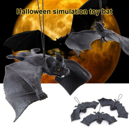 Rubber Toys Halloween Props Simulation Animals Bat Artificial Funny Pendant