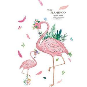Pink-Flamingo-Wall-Sticker-Girls-Bedroom-Kids-Room-Decoration-Art-Decal