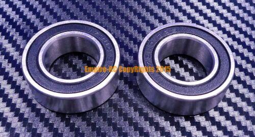 QTY 2 6203-2RS HYBRID CERAMIC Si3N4 Ball Bearing 17x40x12 mm 6203RS Black