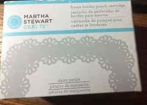 New Martha Stewart Crafts Frame Border Punch Cartridge DAISY PETALS